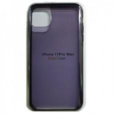Чехол Clear Caseдля iPhone 11 - Темный
