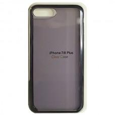 Чехол Clear Caseдля iPhone 7+/8+ - Темный