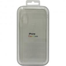 Чехол Clear Caseдля iPhone X/XS- Прозрачный