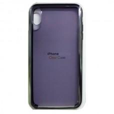 Чехол Clear Caseдля iPhone XS Max - Темный
