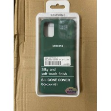 Чехол Silicone Cover для Samsung note 20 ultra- Зеленый