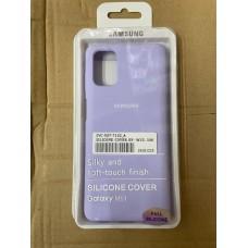 Чехол Silicone Cover для Samsung S10 - Лаванда
