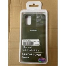 Чехол Silicone Cover для Samsung A41 - Хаки