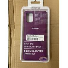 Чехол Silicone Cover для Samsung A11/M11 - Фиолетовый