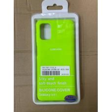 Чехол Silicone Cover для Samsung m31 - Кислотный