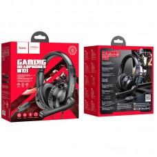 Наушники hoco игровые W103 Magic tour gaming headphones - Black