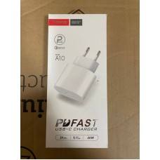 Сетевой адаптер Type-C TRANYOO A10 PD Fast 20W