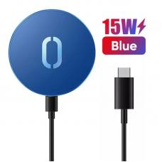 Магнитная беспроводная зарядка Joyroom MagSafe JR-A28 - Blue
