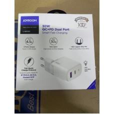 Сетевой адаптер Joyroom L-QP301 Fast Charger QC+PD 30W