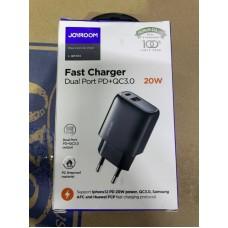 Сетевой адаптер Joyroom L-QP204 Fast Charger PD+QC 3.0 20W