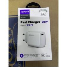 Сетевой адаптер Joyroom NRT-DY139E Fast Charger 20W