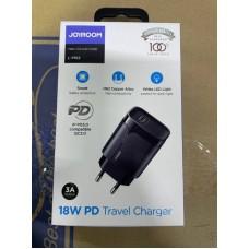 Сетевой адаптер Joyroom L-P182 18W PD Travel Charger
