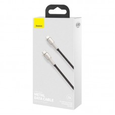 Кабель Baseus Cafule Series Metal Data Cable Type-C to iP PD 20W 1m (CATLJK-A01) - Black