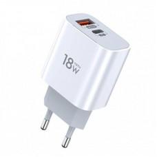 Сетевой адаптер TOTU PD+QC3.0 EU (CACQ-06) 18W