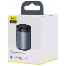 Ароматизатор Baseus Ripple Car CupHolder Air Freshener (with Formaldehyde Purification Function) (SUXUN-BW01) - Black