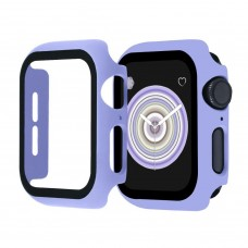 Чехол с защитным стекло для Apple Watch 42mm - Лаванда