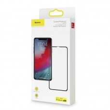 Защитное стекло Baseus Full coverage curved tempered glass protector For Iphone XR/11 (SGAPIPH61-KC01) - Black