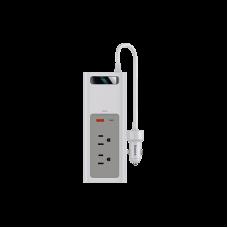 Автомобильный инвентор Baseus In-car Inverter 150W (110V US/JP) (CRNBQ-02) - White