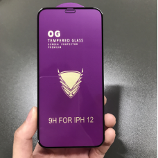 "Защитное стекло ""OG"" для Iphone 12 mini - Black"