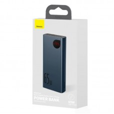 Power Bank Baseus Adaman Metal Digital Display Quick Charge 20000mAh 65W (PPIMDA-D03) - Blue