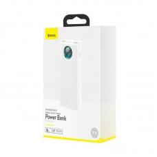 Power Bank Baseus Amblight Digital Display Quick Charge 30000mAh (PPLG-A02) - White