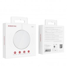 Беспроводная магнитная зарядка Borofone BQ11 Flash - White
