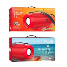 Колонка Borofone BR14 Coolant sports Bluetooth 2400mAh - Red
