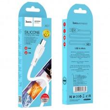 Кабель hoco X61 Ultimate Micro 3A 1m - White
