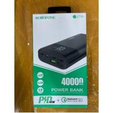 Power Bank Borofone DBT01 40000mAh - Black
