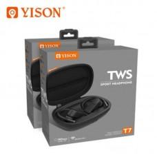 Наушники беспроводные YISON TWS T7 - Black