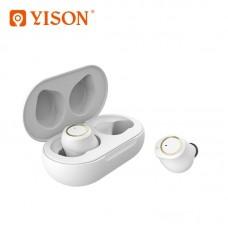 Беспроводные наушники Yison T3 TWS Twins - White