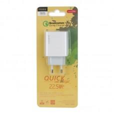 Сетевой адаптер MAIMI C56 1 USB выход 22.5W Quick Charge 3.0 - White