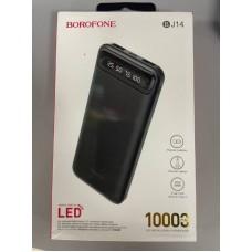 Внешний аккумулятор Power Bank Borofone BJ14 10000mAh - Black