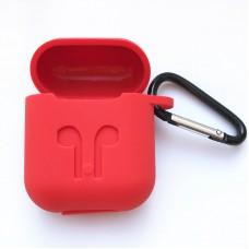 Чехол силиконовый для AirPods - Красный
