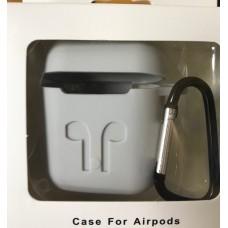 Чехол Силиконовый для AirPods - Серый