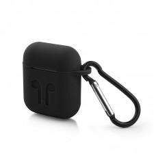 Чехол силиконовый для AirPods - Черный