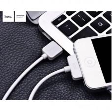 Кабель hoco X1 Rapid iPhone 4 1M - White