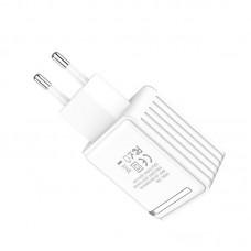 Сетевой адаптер hoco C39A - Белый