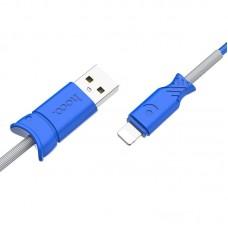 Кабель hoco X24 Pisces lightning - Blue