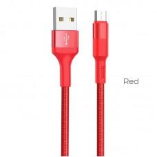 Кабель hoco X26 Xpress Micro - Красный