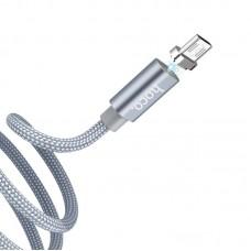 Кабель hoco U40A magnetic Micro - Серый