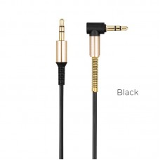 Кабель hoco UPA02 AUX Spring Audio - Черный