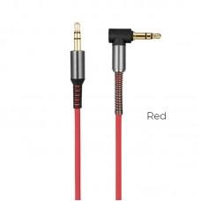 Кабель hoco UPA02 AUX Spring Audio - Красный