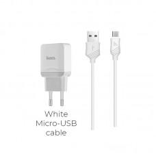 Зарядка hoco C22A Little (Micro) - Белый