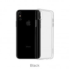 Чехол hoco Light series TPUiPhone XS - Темный