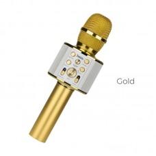 Микрофон hoco BK3 - Золотой