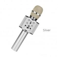 Микрофон hoco BK3 - Серебристый