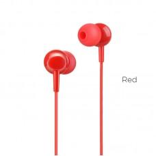 Наушники hoco M14 inital sound universal - Красный
