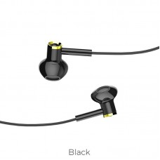 Наушники hoco M47 Canorous wire control - Черный
