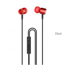 Наушники hoco M42 Ice rhyme wire - Красный